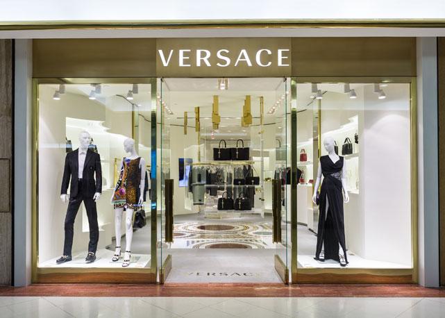 A fachada da nova loda da Versace - Foto: divulgação