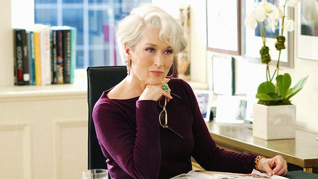 """Meryl Streep no papel de  Miranda Priestly em """"O Diabo Veste Prada"""" - Foto: Divulgação"""
