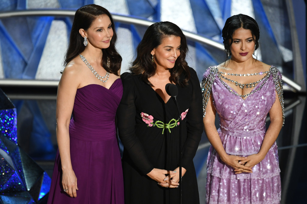 Annabella Sciorra, Salma Hayek e Ashley Judd- Foto: GettyImages