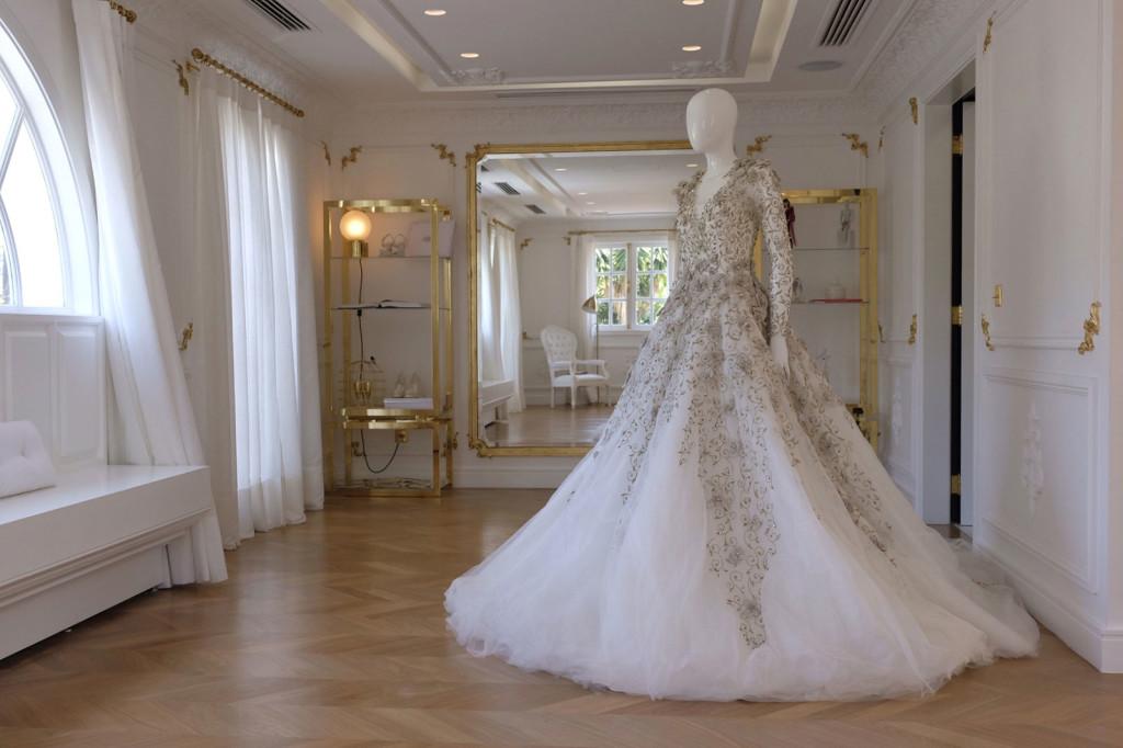 A sala dourada da noiva - Foto: Divulgação