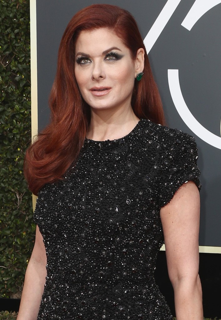 "Debra Messing tem o ruivo ""chilli"" - Foto: Getty Images"