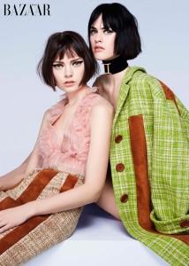 Gêmeos - Foto: Arquivo Harper's Bazaar