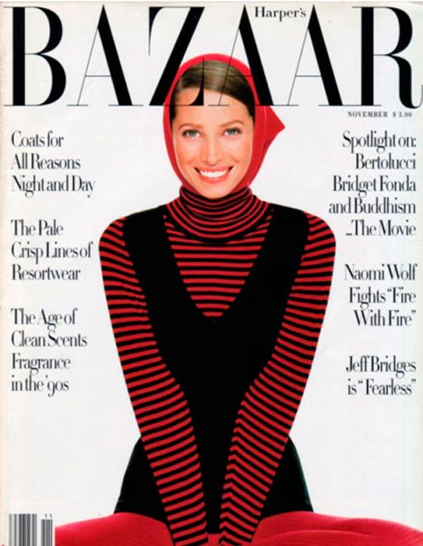 Novembro de 1993 - Foto: Arquivo Harper's Bazaar
